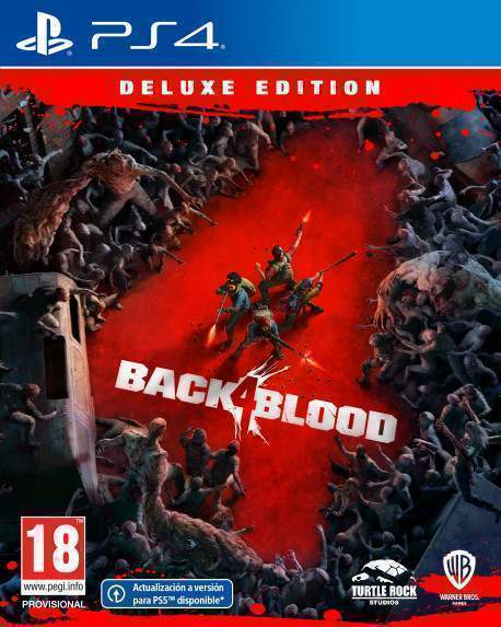 PS4 Back 4 Blood Deluxe Edition